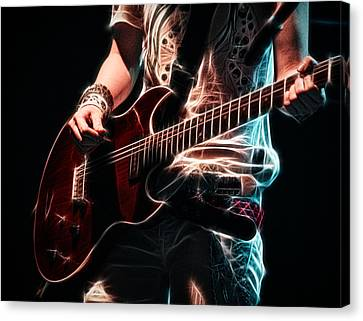 Electric Rock Canvas Print