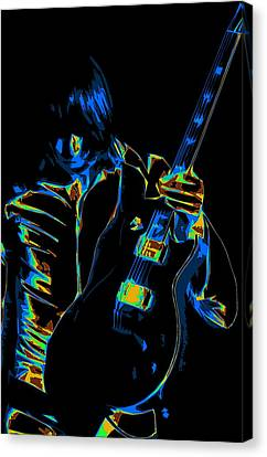 Electric Scholz Canvas Print by Ben Upham III