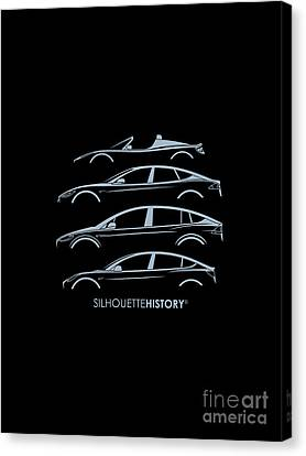 Electric Silhouettehistory Canvas Print by Gabor Vida