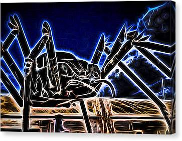 Electric Bug Canvas Print by Scott Campbell