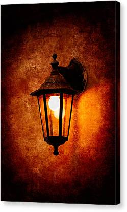 Canvas Print featuring the photograph Electrical Light by Alexander Senin