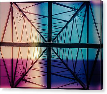 Electromagnetic Fields Canvas Print