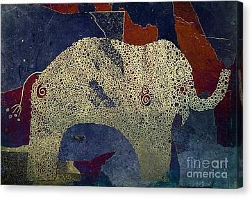 Aimelle Canvas Print - Elefanterie - 888ar2 by Variance Collections