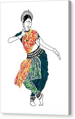 Elegance Canvas Print by Anushree Santhosh