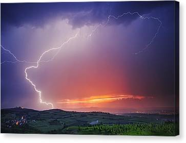 Bolts Canvas Print - Elegance by Burger Jochen