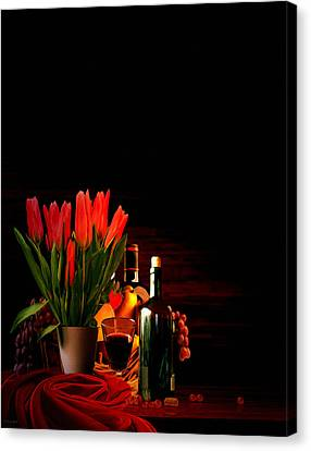 Elegance Canvas Print by Lourry Legarde