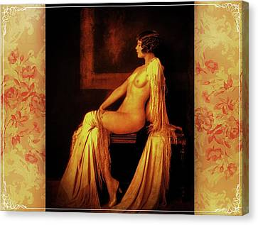 Canvas Print featuring the photograph Elegance by Mary Morawska