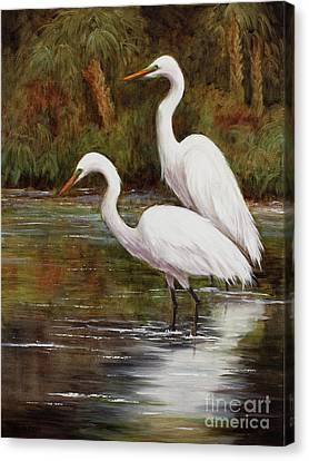 Elegant Reflections Canvas Print
