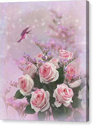 Elegant Roses-1 Canvas Print