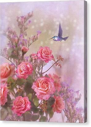 Elegant Roses-2 Canvas Print