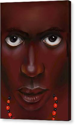 Elegua -lord Of Life Paths Canvas Print