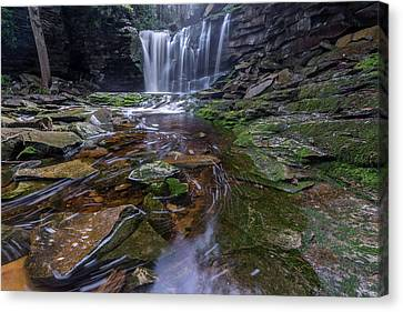 Elekala Falls Canvas Print by Michael Donahue