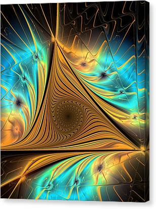 Canvas Print featuring the digital art Element by Anastasiya Malakhova