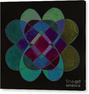 Appleton Canvas Print - Elemental Design by Norma Appleton