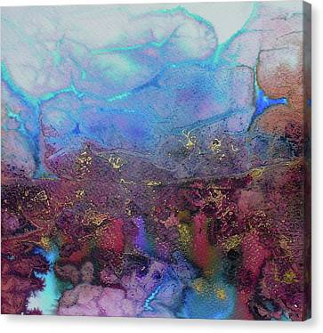 Canvas Print featuring the painting Elemental by Mary Sullivan