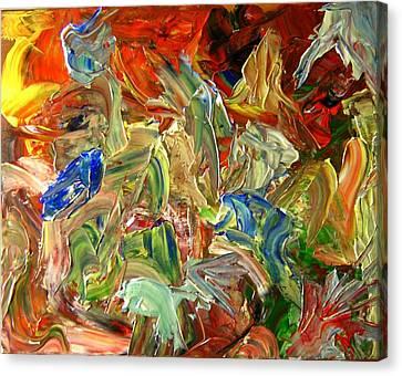 Elemental Merge Canvas Print by Karen L Christophersen