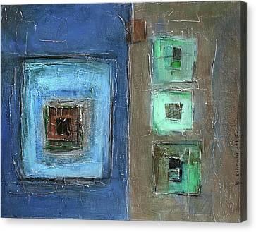 Elements Canvas Print by Behzad Sohrabi