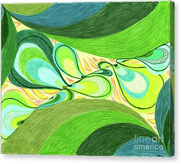 Elements Canvas Print by Kim Sy Ok