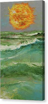 Storm Canvas Print - Elements by Michael Creese