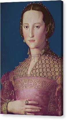 Eleonora Da Toledo Canvas Print by Agnolo Bronzino