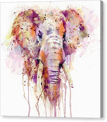 Elephant  Canvas Print by Marian Voicu