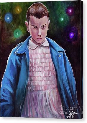 Eleven Canvas Print by Tom Carlton