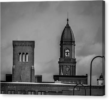 Eleven Twenty Says The Clock In The Tower Canvas Print by Bob Orsillo