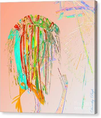 Elfin Aspiring To Be Human Canvas Print by Dorothy Pugh