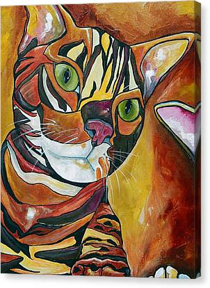 Eli Canvas Print by Patti Schermerhorn