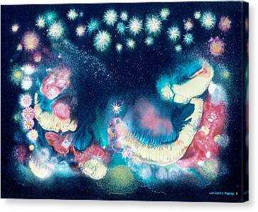 Elijah's Dream II Canvas Print by Lee Pantas