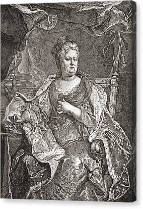 Elisabeth Charlotte Princess Palatine Canvas Print