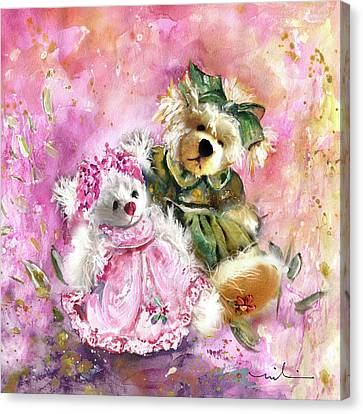 Elise And Eloise Canvas Print