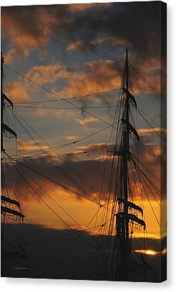 Elissa Sunset Canvas Print