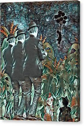Elite Hide And Seek Canvas Print