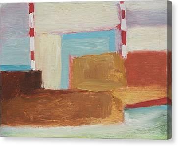 Elizabeth Abstract Canvas Print
