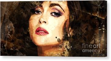 Elizabeth Rosemond Taylor - Memories - Adore Canvas Print