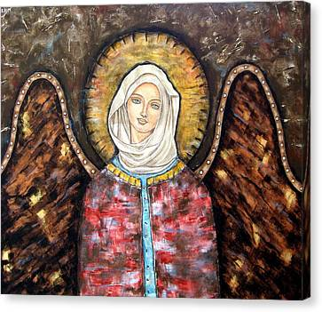 Elizaveta Canvas Print by Rain Ririn