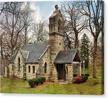 Elkhart Illinois Chapel Canvas Print