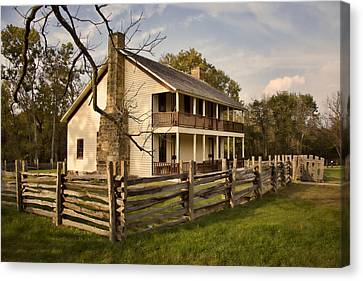 Elkhorn Tavern Canvas Print by Lana Trussell