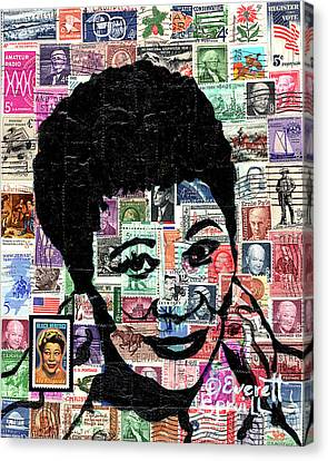 Lady Ella Fitzgerald Canvas Print