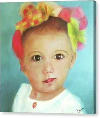Ella Revisited Canvas Print by Dana Redfern