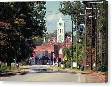 Canvas Print featuring the photograph Ellaville, Ga - 2 by Jerry Battle