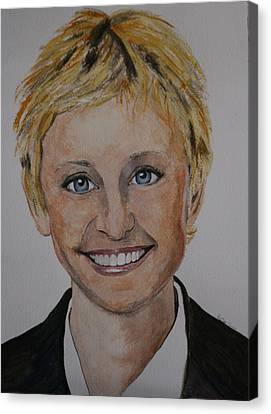 Ellen Canvas Print by Betty-Anne McDonald