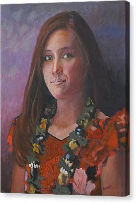 Ellen Gotchell - Junior Miss 2007 Canvas Print by Robert Bissett