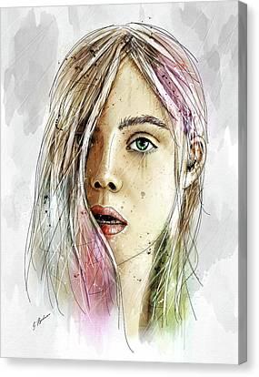 Elliannah La Lumire Du Printemps Canvas Print by Gary Bodnar