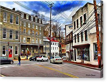 Ellicott City Streets Canvas Print by Stephen Younts