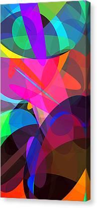 Ellipses 4 Canvas Print by Chris Butler
