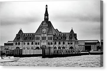 Ellis Island No. 49-3 Canvas Print by Sandy Taylor