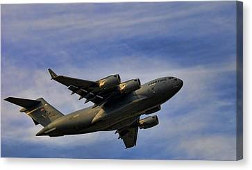 Elmendorf Third Wing Canvas Print