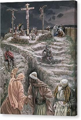 Eloi Eloi Lama Sabacthani Canvas Print by Tissot